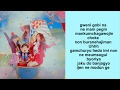 Red Velvet - Rookie (Romanization/EASY LYRICS /letra facil)