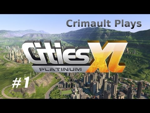 Геймплей Cities XL Platinum (CD-Key, Region Free)