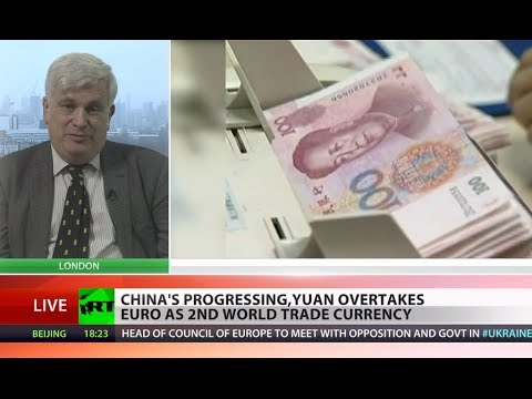 trade - The Chinese yuan has overtaken the euro to become the second most used currency in the global market place. Last year its share of world trade was just over ...