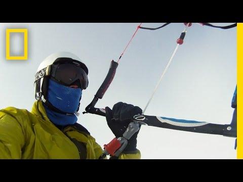 Kite-Skiing Canada's Northwest Passage | National Geographic