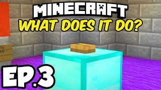 Minecraft: DON'T PRESS THE BUTTON Ep.3 - EARTH & DEATH EXHIBITION!!! (Minecraft Custom Map)