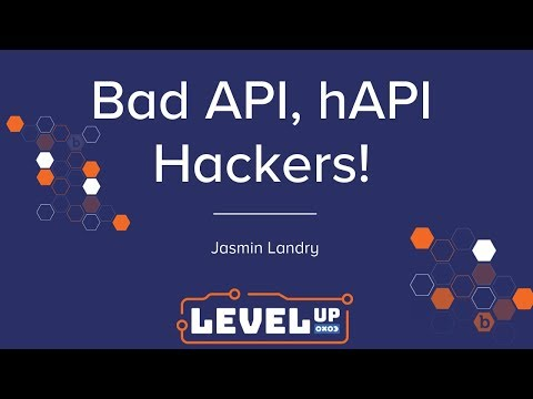 Bad API, hAPI Hackers! by jr0ch17