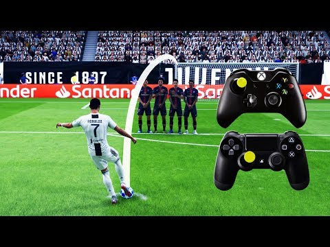 FIFA 19 FREE KICK TUTORIAL | Xbox & Playstation | 4K Ultra HD