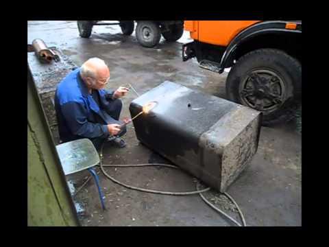 Как сварить бак топливный
