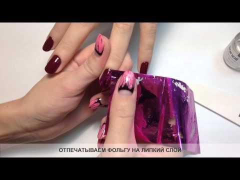 Как сделать дизайн ногтей гель лак