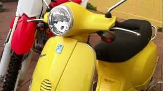 2. 2007 Vespa LX 150  - Quick Overview