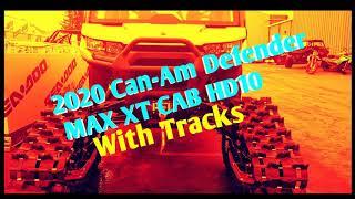 7. 2020 Can-Am Defender MAXXTCAB HD10