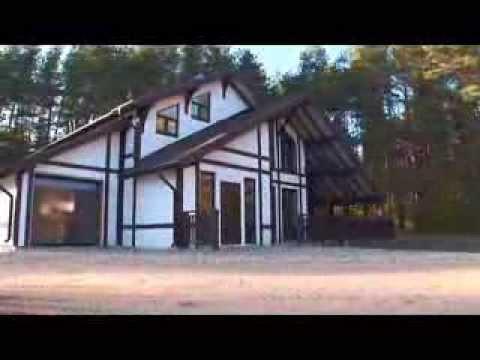 Монтаж дома Valdek