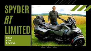 1. 2019 Can-Am Spyder RT Limited  | First Ride | Review