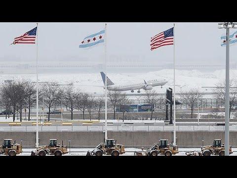 Συναγερμός στις ΗΠΑ για την σφοδρή χιονοθύελλα «Στέλλα»