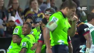 Chiefs v Highlanders Rd.7 2018 Super rugby video highlights