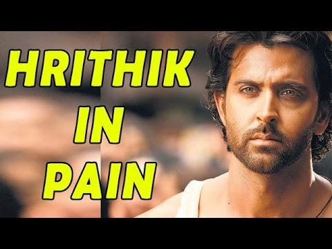 Hrithik Goes Through PAIN in Personal and Proffess