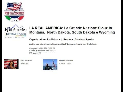 Video LA REAL AMERICA: La Grande Nazione Sioux in Montana, North Dakota, South Dakota e Wyoming (12/1/2016)