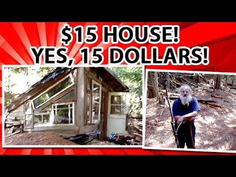 $15 earth berm eco house filmed 30 years later