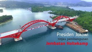 Video Presiden Jokowi Sambangi Jembatan Holtekamp di Papua MP3, 3GP, MP4, WEBM, AVI, FLV Agustus 2018