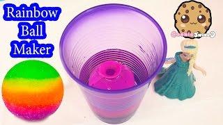 DIY RAINBOW Bouncy BAll Mad Lab Ball Creator Do It Yourself Set Playset Kit Cookieswirlc Video