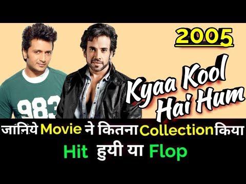 Tusshar Kapoor KYAA KOOL HAI HUM 2005 Bollywood Movie Lifetime WorldWide Box Office Collection