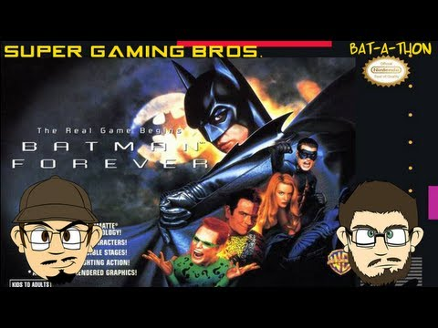 batman forever super nintendo walkthrough