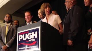 Catherine Pugh Wins Mayor 2016