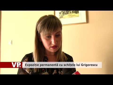 Expoziție permanentă cu schițele lui Grigorescu