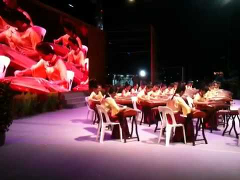 ctss - Clementi town Guzheng Ensemble performed at the River Hong Bao 2011 on 12.02.2011.