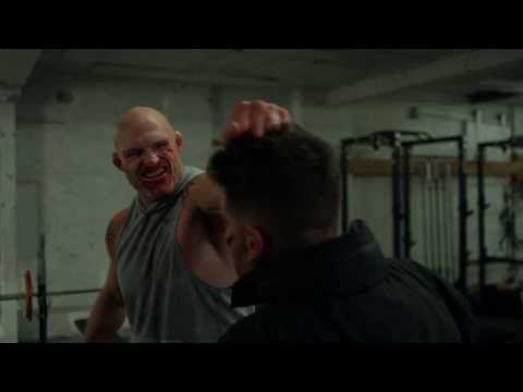 Marvel's The Punisher Season 2 | Frank Castle Russian Gym fight Scene