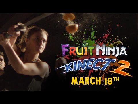 Fruit Ninja Kinect 2 için yeni bir video yayımlandı!
