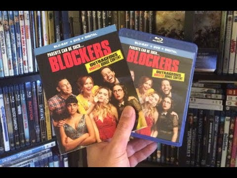 Blockers BLU RAY REVIEW + Unboxing