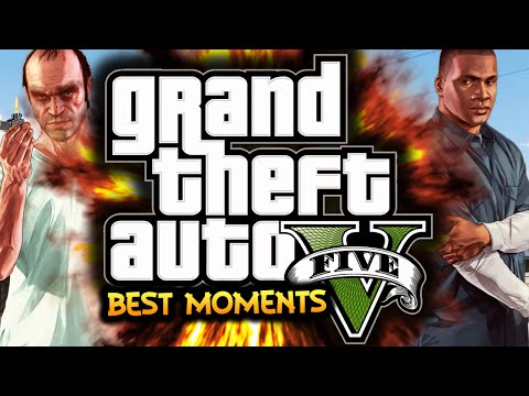 5 - GTA 5: Funny Moments Montage! • Leave a