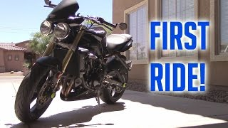 1. 2009 Triumph Street Triple - First Ride Review