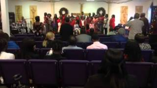 Christmas Program At New Vision