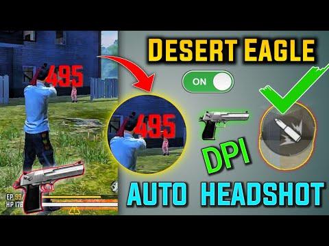 Desert Eagle Secret Headshot Tricks👽    Only Headshot    100% Working