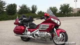 6. Used 2008 Honda Goldwing GL1800 Motorcycles for sale in Tampa Florida
