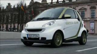 New Smart Electric Drive 2010 Driving