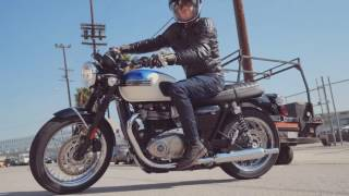 2. 2017 Triumph Bonneville T100 First Ride Review