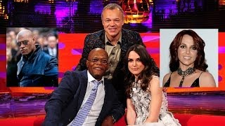 Video SAMUEL L. JACKSON Is NOT Laurence Fishburne! - THE GRAHAM NORTON SHOW MP3, 3GP, MP4, WEBM, AVI, FLV Mei 2019