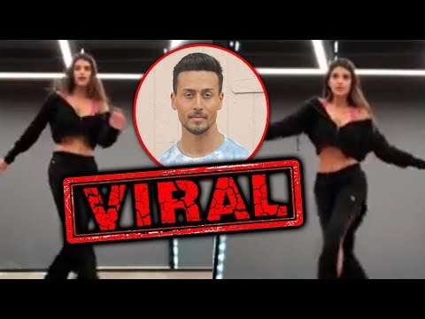 Tiger Shroff Leading Lady's Dance Video Goes Viral