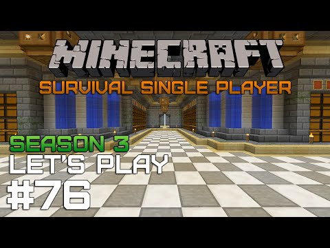 Minecraft SSP #76 — Склад мечты [Season 3]