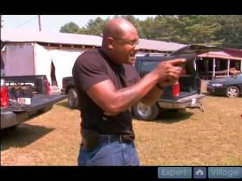 Gun Holsters & Drawing Firearms : Understand the Pivot Point When Drawing a Gun