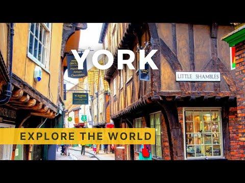 🇬🇧 Walking in YORK 4K, UK