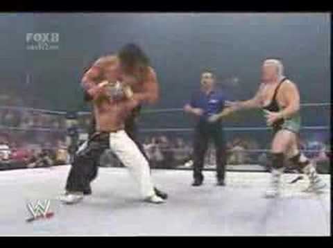 Batista Helping Rey Mysterio