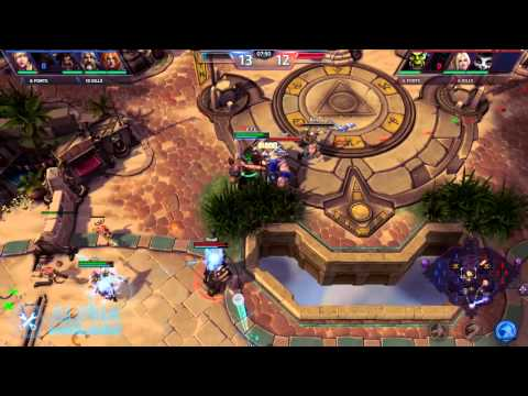 Sky Temple Match Blizzcon2014