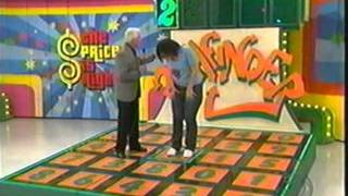 Crazy contestant on the Price is Right makes history during a playing of Pathfinder.