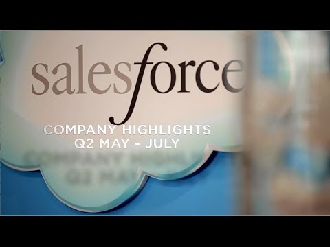 Salesforce.com Q2 Highlights