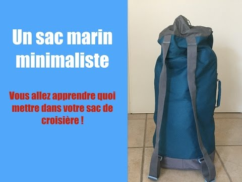 Comment préparer un sac marin minimaliste ? - Épisode 45