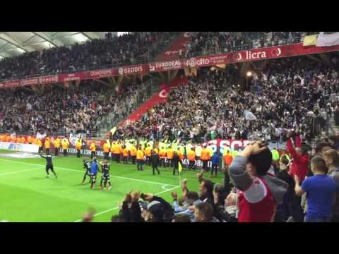 Live Amiens 95th Minute Goal Secures Ligue 1 Promotion v Reims 2-1