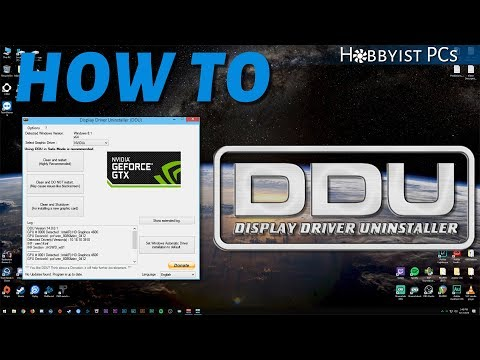 How to Install and Use Display Driver Uninstaller