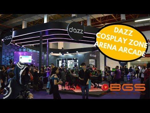 Kinoplex - Brasil Game Show 2018  Lançamentos Dazz, Nintendo Cosplay Zone e Arena Arcade Ponto Frio