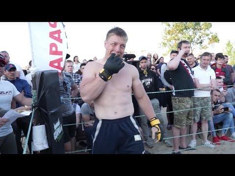 ОГРОМНЫЙ МУЖИК против Чемпиона ММА 130кг  - DomaVideo.Ru