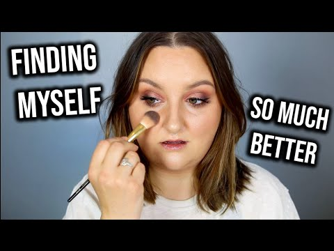 LETS CHAT! GET READY WITH ME USING COLOURPOP x RBK   MOTHERHOOD, FINDING MYSELF + THINGS ARE BETTER!